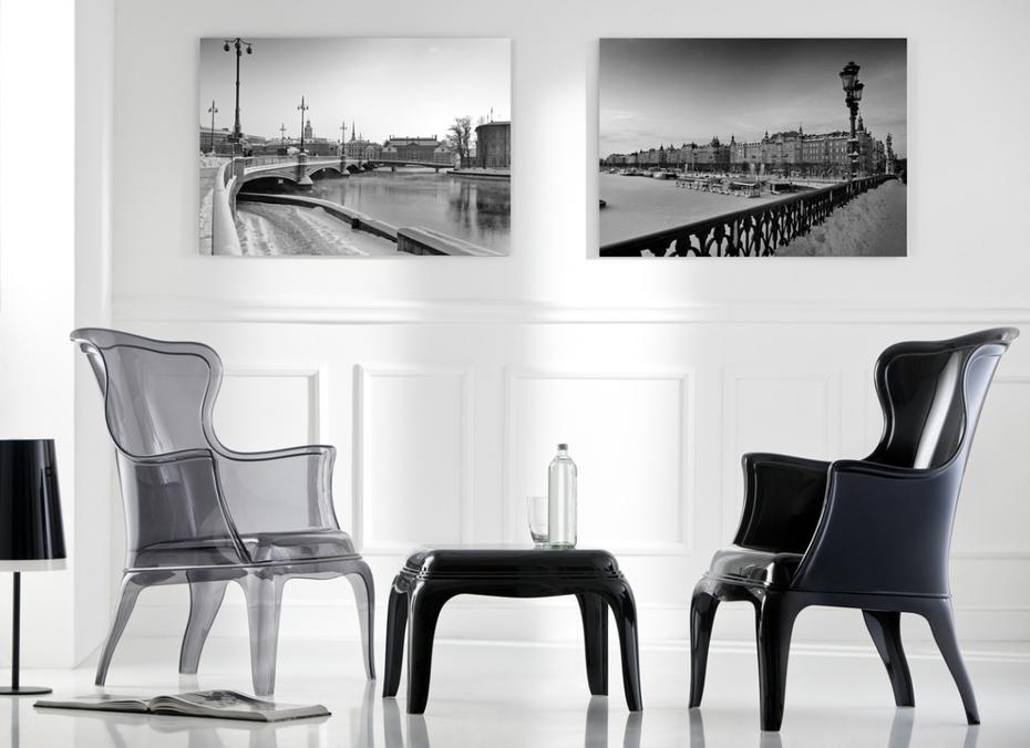pasha stuhl aus polycarbonat einzigartiger komfort und. Black Bedroom Furniture Sets. Home Design Ideas